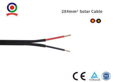 China Black 2 Core DC Cable Low Toxicity High Voltage And Current Carrying Capacity supplier
