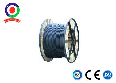China Black Color Single Core Solar Cable , Sunlight Resistant 4mm Single Core Cable supplier