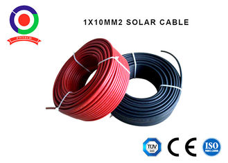 China Outdoor 10mm Single Core Cable 0.8mm Jacket Thickness High Flame Retardant Properties supplier