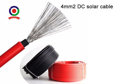 China Hydrolysis Resistant Single Core Solar Cable Compatible To All Popular Connectors supplier