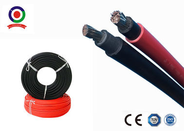 China Durable Solar DC Cable Excellent Moisture Resistance Low Smoke Without Halogen supplier