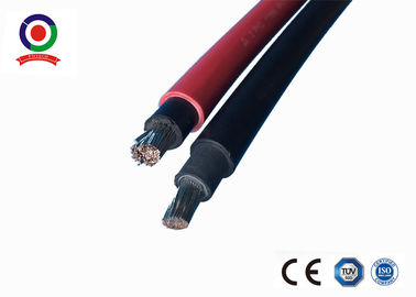 China Corrosion Resistance Single Core Solar Cable Tinned Copper XLPE Double Insulation supplier