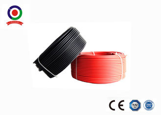 China Weather Resistant Single Core Solar Cable , High Voltage Cable Low Space Requirement supplier