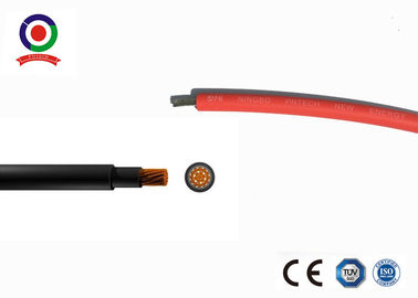 China Low Smoke Emission Single Core Solar Cable 16mm² Fire Resistance Performance supplier