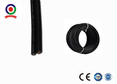China UV Resistance 2 Core Solar Cable 10mm2 8AWG Low Loss For Photovoltaic System supplier