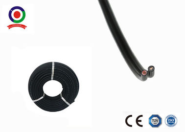 China TUV Certified 10 mm Twin Core Cable DC 1800V Strong Flexibility Long Service Life supplier