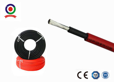 China Non Toxic 2.5 mm Solar Cable Stable Electrical Properties Over Broad Temperature Range supplier