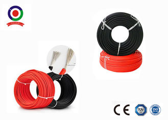 China Double Insulation Solar PV Cable , Cold Resistant 4mm DC Solar Cable TUV Approved supplier
