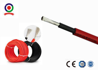 China High Voltage Solar Panel Cable 6mm Durable Good Fire - Resistant Performance supplier