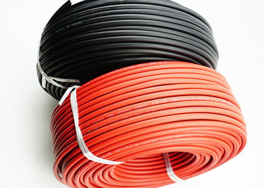0.8mm Thickness Solar Photovoltaic Cable / Sunlight Resistant Solar DC Cable