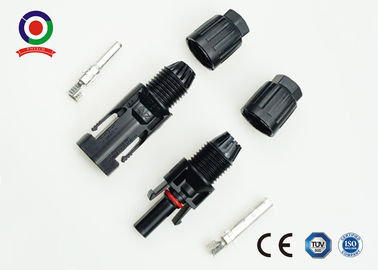 China Solar Energy System MC4 PV Connectors High Mechanical Endurance For Junction Box supplier