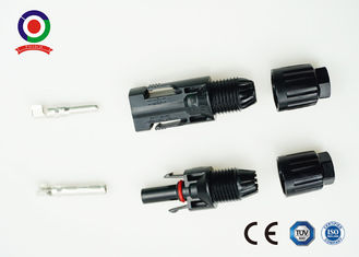 China PPO Material 30A Multi Contact MC4 Connector , MC4 Compatible Connectors For Solar Panel supplier