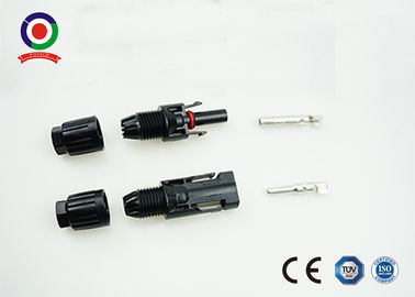 China High Robustness Solar Panel Connectors UV Resistant Strong Current Carrying Capacity supplier