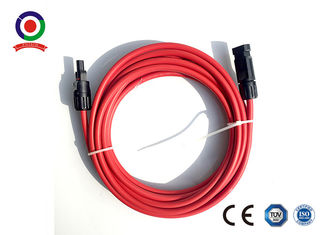 China 4mm2 MC4 Solar Extension Cable 600V AC 1800V DC In Solar PV System supplier