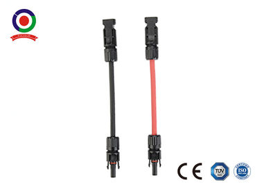 China TUV Approval  Solar Extension Cable 4mm2 With Male Female  Connector supplier