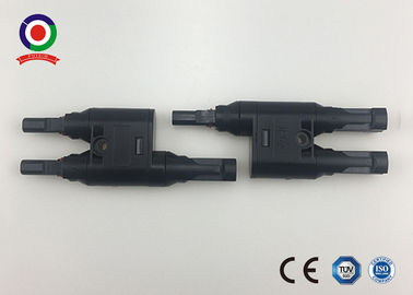 China CE Approved MC4 Branch Connector Male And Female For 2.5 4 6mm2 DC Solar Cable supplier