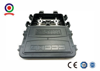 China Double Core Wire PV Junction Box , Tin Plated Copper Solar Power Junction Box supplier