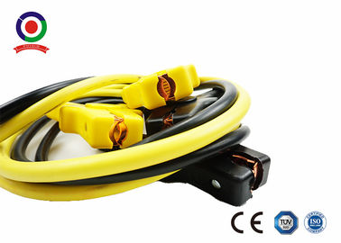 China Essential Safety Car Battery Booster Cables 300A - 600A Insulated Color Coded Handles supplier