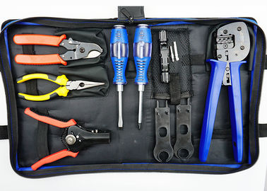 China Blue Bag Solar PV Tool Kits Multi - Purpose 30.5x20.5x7.5cm Carbon Steel supplier