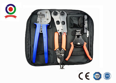 China Black Bag  Crimping Tool Kit Solar Photoroltaic Connector For Solar System supplier
