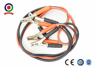 China Intelligent 400A Jump Leads Booster Cables , Red And Black Truck Booster Cables supplier