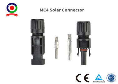 China PV Mc4 Solar Cable Connectors IP67 Protection supplier