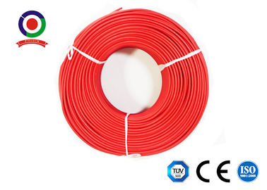 China TUV Tested DC Solar Cable 55A UV Ozone Resistance XLPE Insulation Solar System supplier