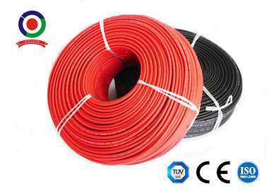 China PV1-F 2.5 mm2 Solar PV Cable / DC cable / XLPE cable TUV approved for solar system supplier