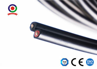 China Twin Core Photovoltaic DC Solar Cable Ozone Resistant With TUV Certificate supplier