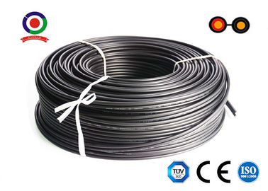 China XLPE Jacket Twin Core Dc Cable For Solar Pv / Tinned Copper 1800V Solar Dc Cable supplier