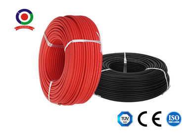 China H1z2z2-K / PV1-F 6mm Solar Cable / Dc Cable For Solar Pv Tinned Copper Conductor supplier