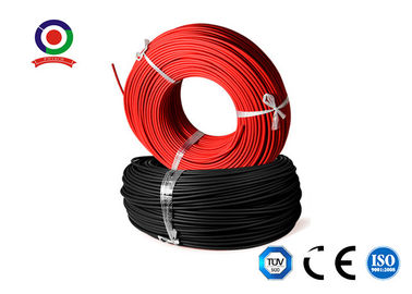 China UV Resistant Solar Power Cables H1z2z2K / -40 Degree 4mm Solar Cable 100m supplier