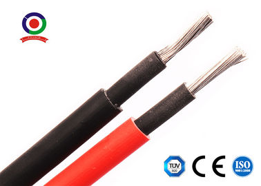 China Double Insulated 4mm Dc Solar Cable Tinned Copper Conductor For Solar Panels supplier