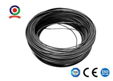 China Black / Red 4mm Solar Cable Pv1 F For Photovoltaic System XLPE Jacket supplier