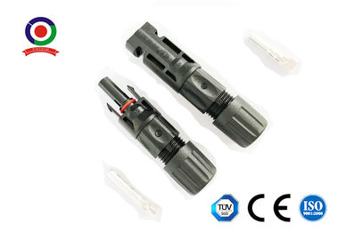 China Solar Panel Mc4 PV Connector IP67 Waterproof High Heat Resistance 30A 1500V DC supplier
