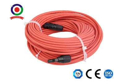 China 10 Feet Length  Extension Cable / Solar Panel Power Cable 30A Rated Current supplier