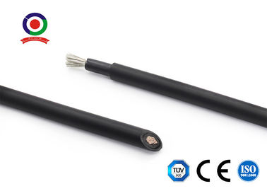China Black / Red Dc Cable For Solar Pv / Dc Solar Wire For Electrical Installation supplier