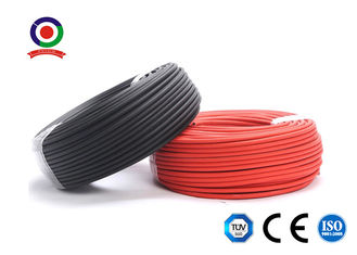 China Photovoltaic DC Solar Cable XLPE Material 200m Per Roll For Solar Plant supplier