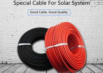 China Non Toxic Solar System Cable 4mm2 Deformation Resistant At High Temperature XLPE supplier