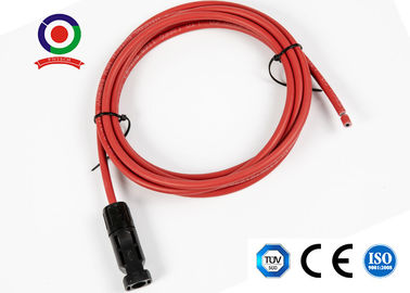 China UV Resistance 6mm2 10AWG Solar Panel Extension Cable supplier