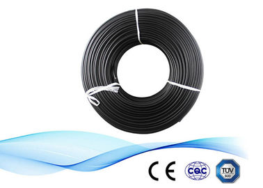 China Power Station Double XLPE 1x6mm2 DC Solar Cable supplier