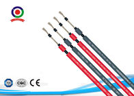 China Heat Resistant PV DC Solar Cable XLPE 200m / Roll For Electrical Installation factory