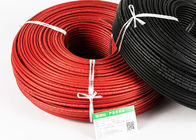 China TUV CE CQC Black and Red Single Core Solar Cable 4mm2 for solar power system factory