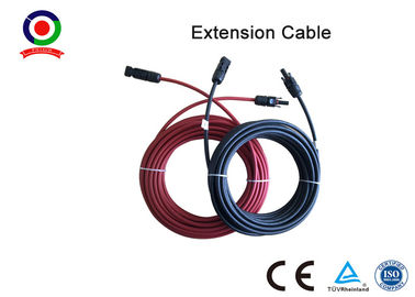 China Excellent Flexibility 6mm Solar Panel Cable High Electrical Conductivity With  Connector distributor