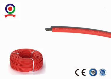 China Abrasion Resistant Single Core Solar Cable , 4mm2 Electrical Power Cable factory