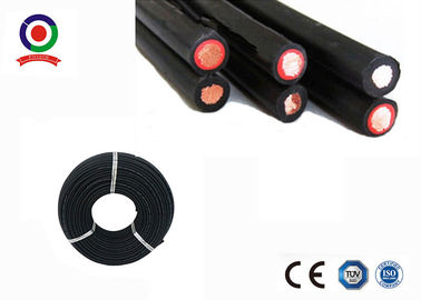 China Halogen Free Twin Core Solar Cable , Dual Wall Insulation 4mm Twin Core Wire distributor