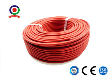 China Ozone Resistant 4mm Solar Cable Low Space Requirement High Resistance Against Heat distributor