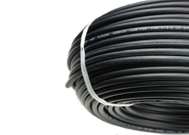 China UV Resistance Solar PV Cable , 16mm² PV DC Cable Low Smoke Emission distributor