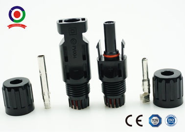 China Lower Contact Resistant Solar PV Connectors Load Capability With Big Current distributor