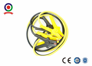 Universal Automotive Booster Cables 500A Black And Yellow Iron Clamp 6 Meter